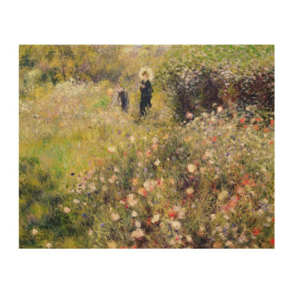 Pierre A Renoir | Summer Landscape Wood Wall Art