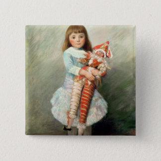 Pierre A Renoir | Suzanne 15 Cm Square Badge