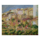 Pierre A Renoir   Terrace in Cagnes Poster