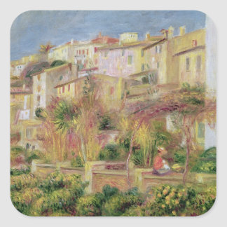 Pierre A Renoir | Terrace in Cagnes Square Sticker