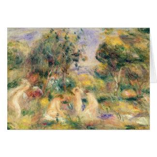 Pierre A Renoir | The Bathers Card