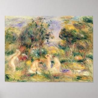 Pierre A Renoir | The Bathers Poster