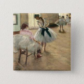 Pierre A Renoir | The Dance Lesson 15 Cm Square Badge