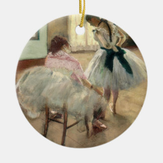 Pierre A Renoir | The Dance Lesson Christmas Ornament