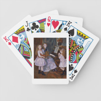 Pierre A Renoir | The Daughters of Catulle Mendes Bicycle Playing Cards