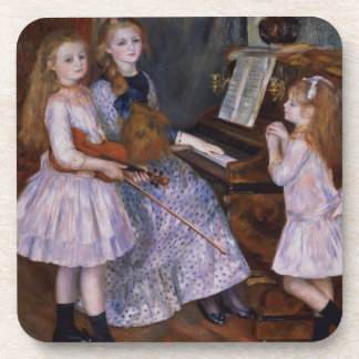 Pierre A Renoir   The Daughters of Catulle Mendes Coaster