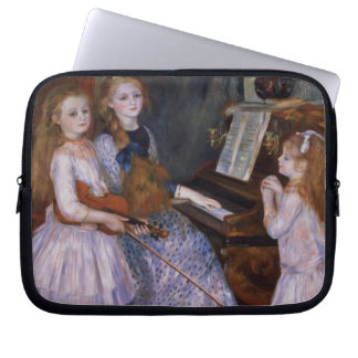 Pierre A Renoir   The Daughters of Catulle Mendes Laptop Sleeve