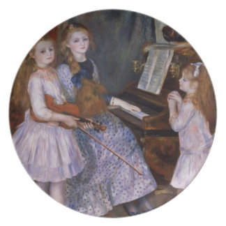 Pierre A Renoir | The Daughters of Catulle Mendes Party Plates