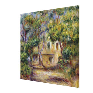 Pierre A Renoir | The Farm at Les Collettes Canvas Print