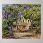 Pierre A Renoir   The Farm at Les Collettes Poster