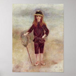 Pierre A Renoir | The Little Fisherwoman Poster