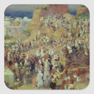 Pierre A Renoir | The Mosque, or Arab Festival Square Sticker