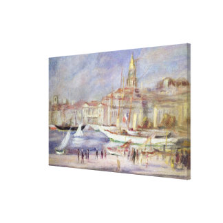 Pierre A Renoir | The Old Port of Marseilles Canvas Print