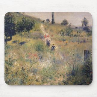 Pierre A Renoir | The Path through the Long Grass Mouse Mat
