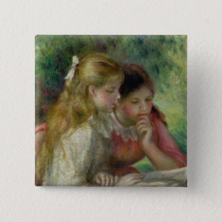 Pierre A Renoir | The Reading 15 Cm Square Badge
