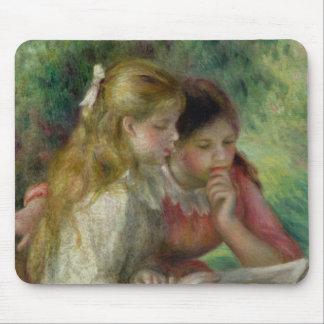 Pierre A Renoir | The Reading Mouse Mat