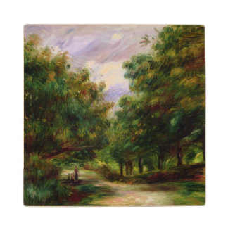 Pierre A Renoir | The Road near Cagnes Maple Wood Coaster