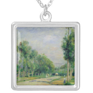 Pierre A Renoir | The Road to Versailles Silver Plated Necklace