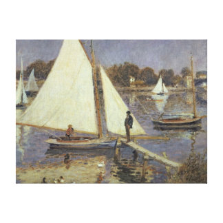 Pierre A Renoir | The Seine at Argenteuil Canvas Print