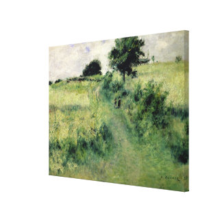 Pierre A Renoir | The Watering-place Canvas Print