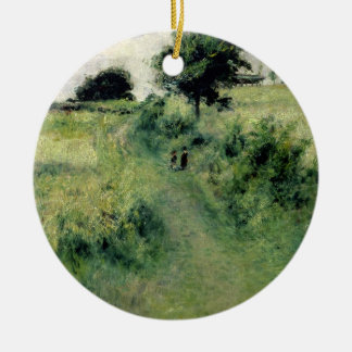 Pierre A Renoir | The Watering-place Christmas Ornament