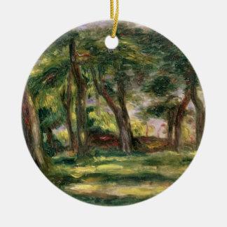Pierre A Renoir | Trees Christmas Ornament