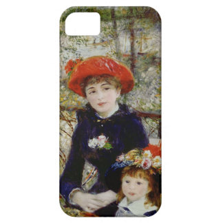 Pierre A Renoir | Two Sisters, or On The Terrace iPhone 5 Cases