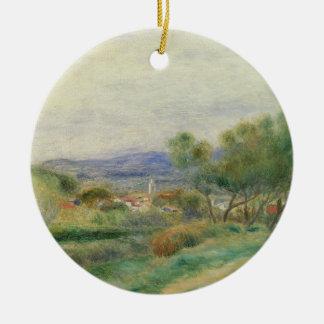Pierre A Renoir   View of La Seyne, Provence Christmas Ornament