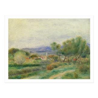 Pierre A Renoir | View of La Seyne, Provence Postcard