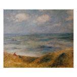 Pierre A Renoir | View of the Sea, Guernsey Poster