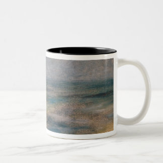 Pierre A Renoir | View of the Sea, Guernsey Two-Tone Coffee Mug