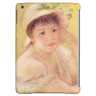 Pierre A Renoir | Woman in a Straw Hat