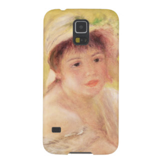 Pierre A Renoir | Woman in a Straw Hat Galaxy S5 Cover