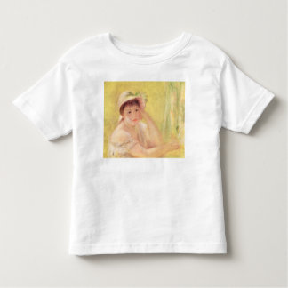Pierre A Renoir | Woman in a Straw Hat Toddler T-Shirt
