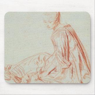 Pierre A Renoir | Woman Smiling Mouse Mat