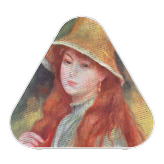 Pierre A Renoir | Young girl in a Straw Hat