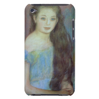 Pierre A Renoir | Young girl with blue eyes Barely There iPod Covers