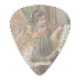 Pierre A Renoir | Young Girls at the Piano Acetal Guitar Pick