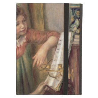 Pierre A Renoir | Young Girls at the Piano Case For iPad Air