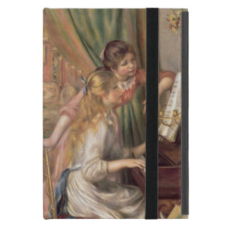 Pierre A Renoir | Young Girls at the Piano iPad Mini Cover