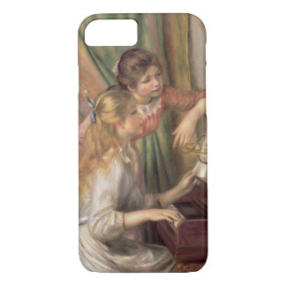 Pierre A Renoir | Young Girls at the Piano iPhone 8/7 Case
