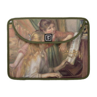Pierre A Renoir   Young Girls at the Piano MacBook Pro Sleeves