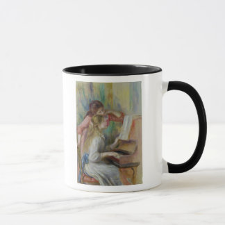 Pierre A Renoir | Young Girls at the Piano Mug