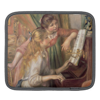 Pierre A Renoir | Young Girls at the Piano Sleeves For iPads