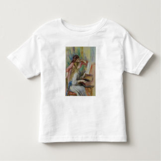 Pierre A Renoir | Young Girls at the Piano Toddler T-Shirt
