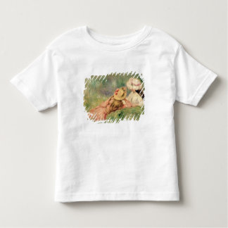 Pierre A Renoir | Young Girls on the River Bank Toddler T-Shirt