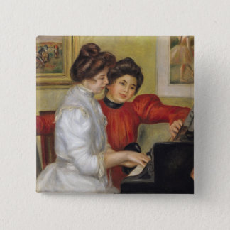 Pierre A Renoir | Yvonne and Christine Lerolle 15 Cm Square Badge