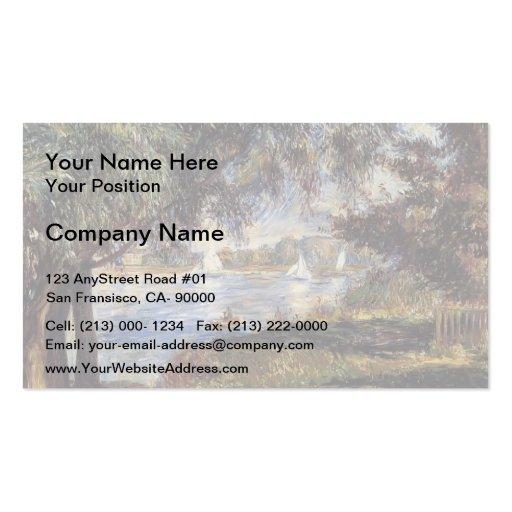 Pierre-Auguste Renoir- Bougival Business Card