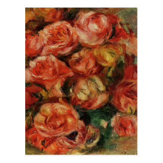 Pierre-Auguste Renoir- Bouquet of Flowers Postcard