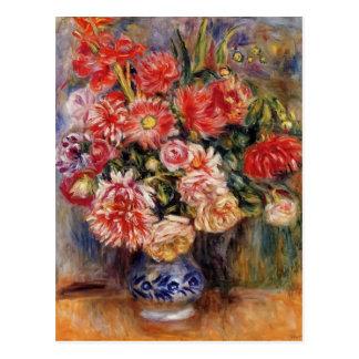 Pierre-Auguste Renoir- Bouquet Postcard
